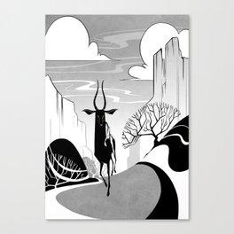 Valleys Canvas Print