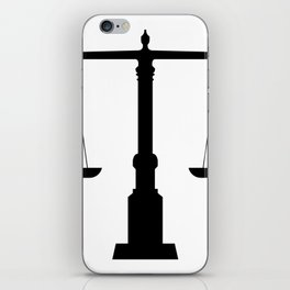 weight scale iPhone Skin