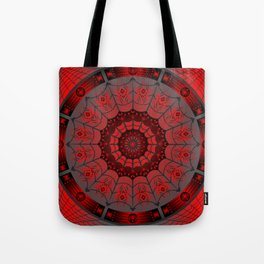 Gothic Spider Web Tote Bag