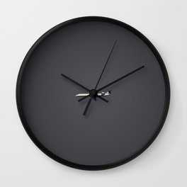 Lonely Flight Wall Clock