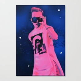 Stage King Canvas Print