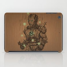 Wooden Man iPad Case