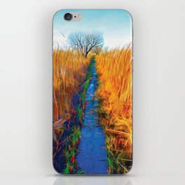Wetland Boardwalk iPhone Skin