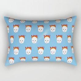 Baby's On Fire Rectangular Pillow