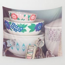 Painted Pyrex Cookie 01 Wall Tapestry
