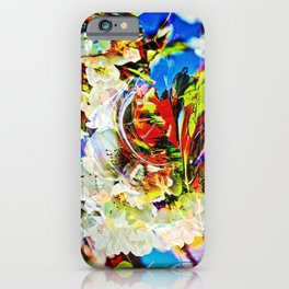 Flower magic - Abstract in Perfection iPhone Case