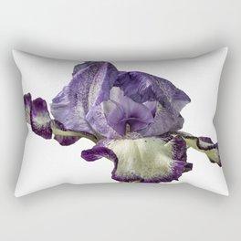 Iris with Flare Rectangular Pillow