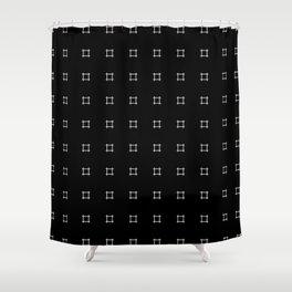 Crosshatch (Reversed) Shower Curtain