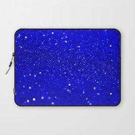 Bright Blue Glitter Laptop Sleeve