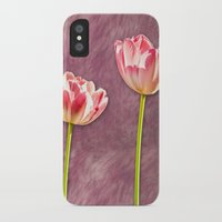 tulip iPhone & iPod Cases featuring tulip  by Karl-Heinz Lüpke