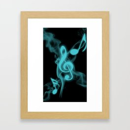 MUSIC Framed Art Print