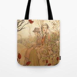 Jane Austen, Mansfield Park - the Garden Tote Bag