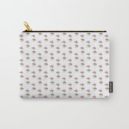 Pink Mini Orchid Carry-All Pouch