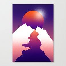 Spilt moon Canvas Print