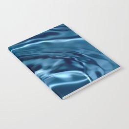Deep Blue Drip Notebook