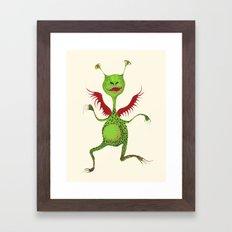 monsta Framed Art Print