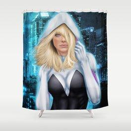 Spider-Gwen Shower Curtain
