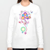 psychedelic Long Sleeve T-shirts featuring Psychedelic by tuditees
