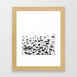 Invaded III B&W Framed Art Print