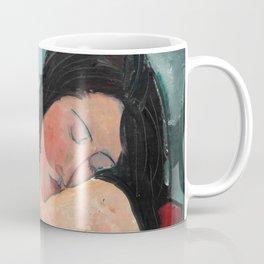 "Amedeo Modigliani ""Female nude (Iris Tree)"" Coffee Mug"