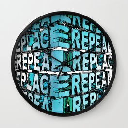 Repeal And Replace Wall Clock
