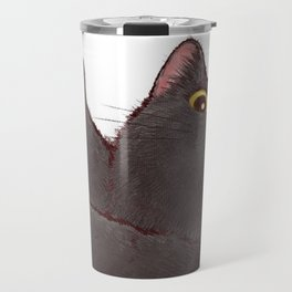 cat : huuh Travel Mug
