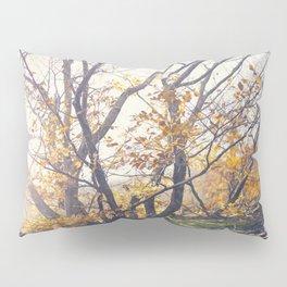 Dreamy yellow forest Pillow Sham