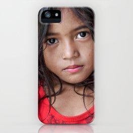 Red&Black iPhone Case