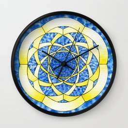 Hexegesis - Study I Wall Clock