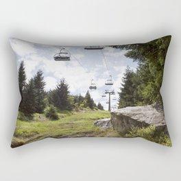 Ještěd Mountain Rectangular Pillow