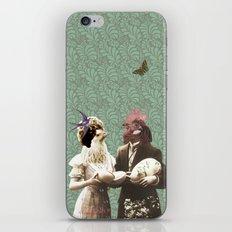 Mr & Ms Chick iPhone & iPod Skin