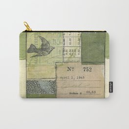 Flying Colors in Green Carry-All Pouch