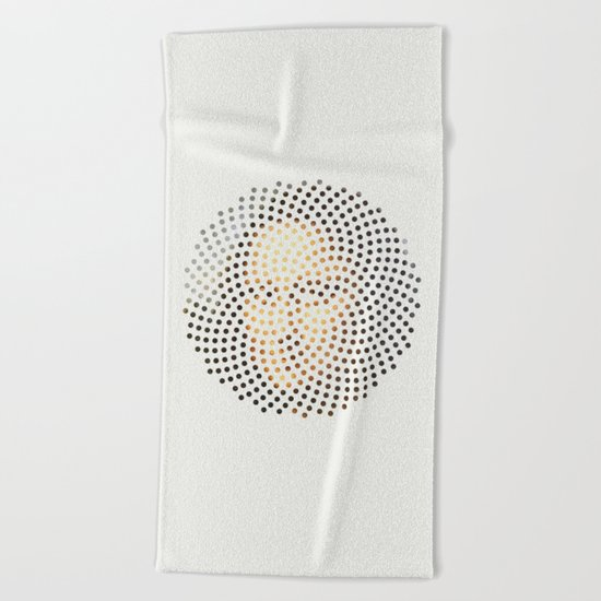 Optical Illusions - famous works of art 1 Beach Towel