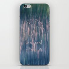 A Little Rain iPhone & iPod Skin