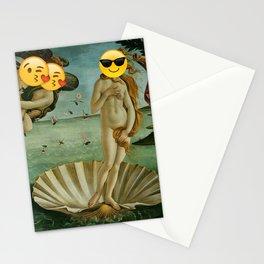 Venus Emoji Stationery Cards