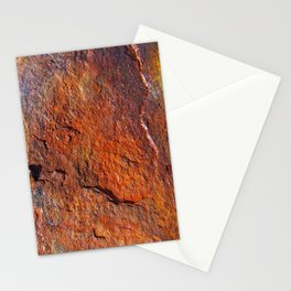 Fire Stone rustic decor Stationery Cards