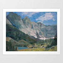 Mountain Landscape #050 Art Print
