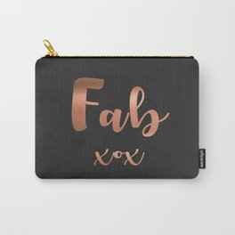Fab xox Carry-All Pouch