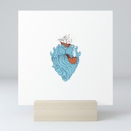 Skilled Sailor Mini Art Print