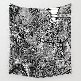 Profiles Wall Tapestry