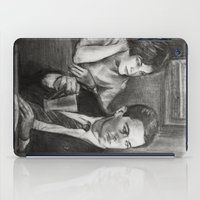 dale cooper iPad Cases featuring TWIN PEAKS - COOPER AND AUDREY by William Wong