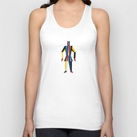soldier Tank Tops featuring TIN SOLDIER by THE USUAL DESIGNERS