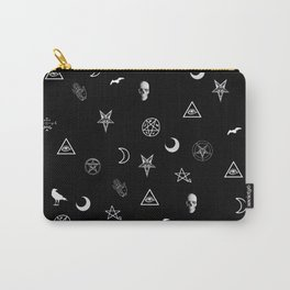 Goth Symbols Pattern Carry-All Pouch