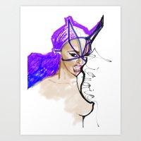 Liquorice  Art Print