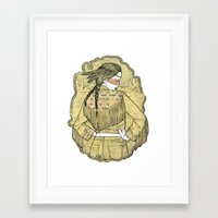 western Framed Art Prints featuring Western by Lola Beltrán