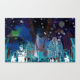 A tale of two cities 2 Canvas Print