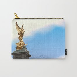 Golden Angel statue London Carry-All Pouch