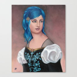 Frederica of Vienwray Canvas Print