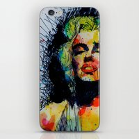 monroe iPhone & iPod Skins featuring Monroe by benjamin james