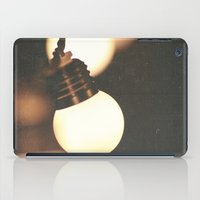 the lights iPad Cases featuring Lights by Whitney Retter